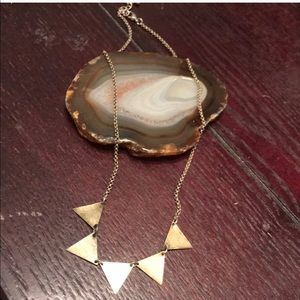 UO triangle necklace